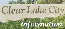 Clear Lake City Information