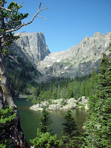 Picture Dream Lake And Hallett Peak