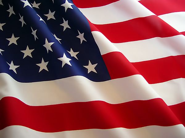 Picture of an American Flag