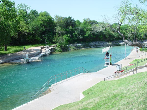 Barton Springs Pool Pictures