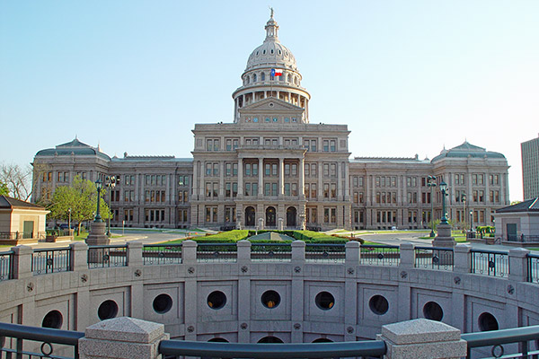 Texas Capitol building.